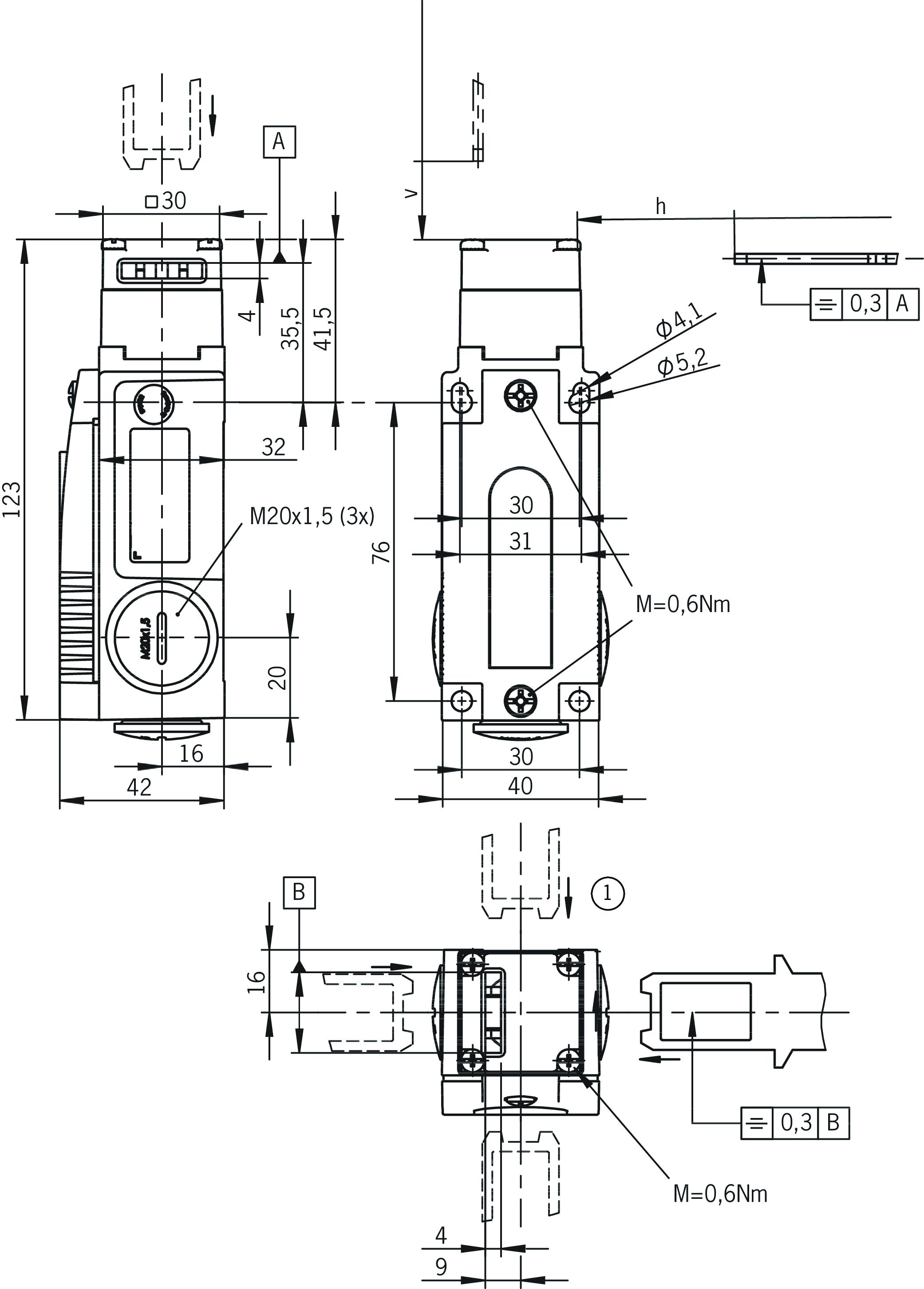 Dimension drawings