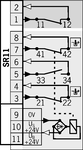 Anschlussplan<br>2131SR11