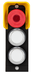 MSM-1-P-CS-BPP-A5-126381<br>Submodule MSM-1-P... (illuminated emergency stop with protective collar, 2 illuminated pushbuttons)