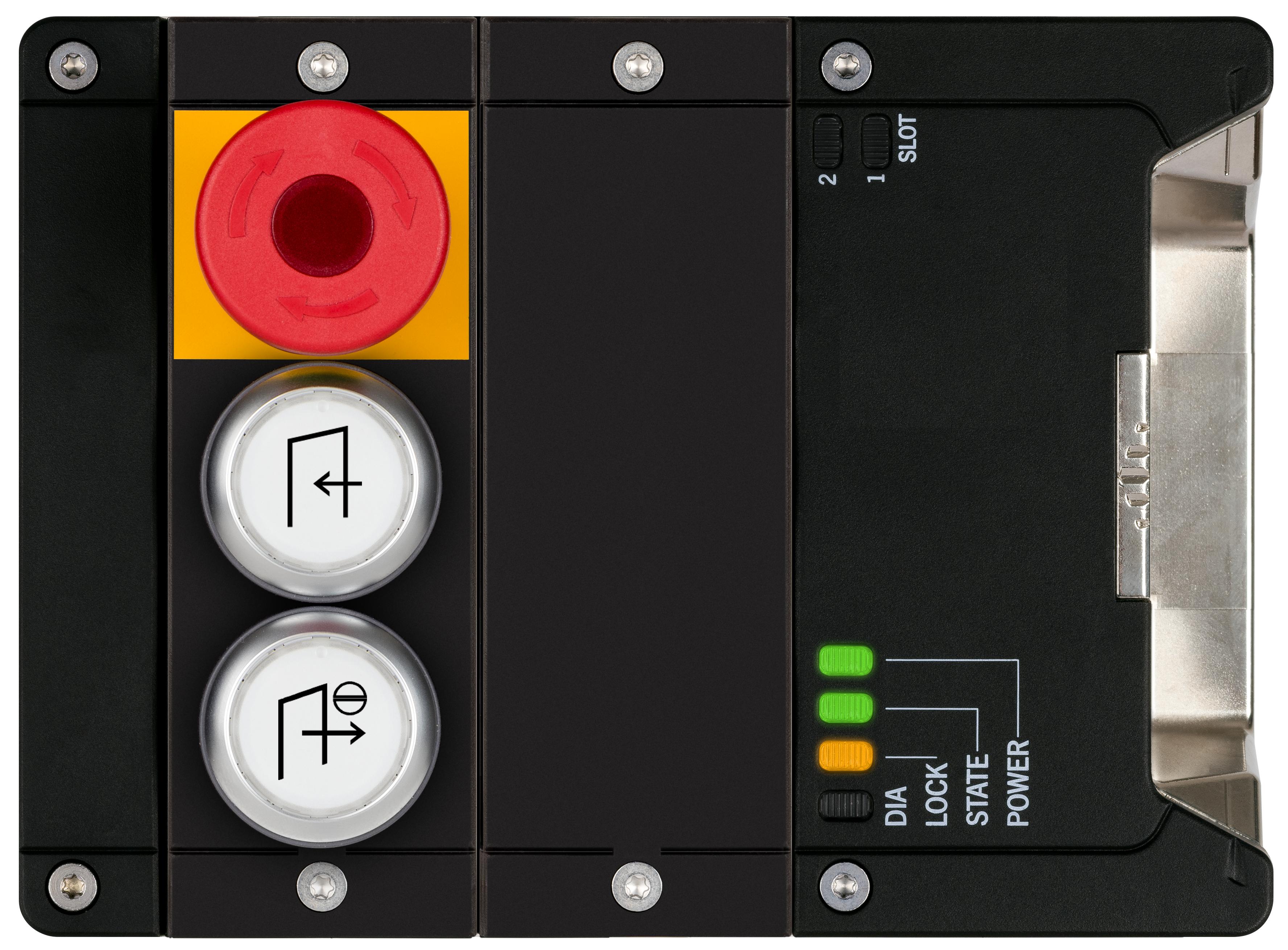 锁定模块 MGB2-I-MLI-U-YA4E5-KA-R-163645(订货号 163645)