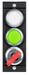 MSM-1-P-CA-PPW-D4-161474<br>Submodul MSM-1-P... ( 2 Drucktaster beleuchtet, mittig, oben / unten, Schlüsselschalter)
