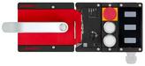 MGB2-L1H-BR-U-S0-DB-L-161775<br>Komplettset MGB2-L1...-BR (2 Drucktaster, Not-Halt, Ruhestromprinzip, Türanschlag links)