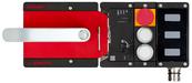 MGB2-L1H-BR-U-S1-DY-L-161787<br>Komplettset MGB2-L1...-BR (M23, 2 Drucktaster, Not-Halt, Ruhestromprinzip, Türanschlag links)