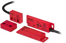 Magnetically coded safety switches with AS‑Interface