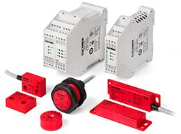 Magnetically coded safety switches