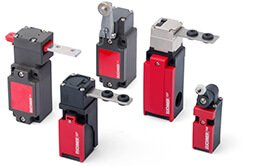 Electromechanical safety switches without guard locking